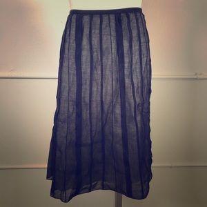 NIC+ZOE Batiste Flirt Pleated Skirt